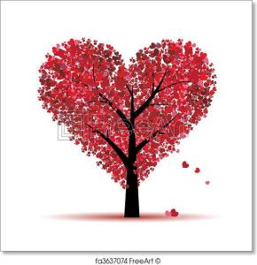 valentine-tree-love-leaf-from-hearts